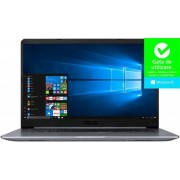 "Ultrabook™ ASUS VivoBook S15 S510UA (Procesor Intel® Core™ i5-8250U (6M Cache, up to 3.40 GHz), Kaby Lake R, 15.6""FHD, 4GB, 256GB SSD, Intel® UHD Graphics 620, FPR, Win10 Pro, Gri)"