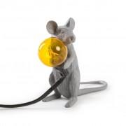 Seletti Mouse Lampada Grey Edition Mac