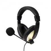 Cuffie LogiLink HS0011A Stereo Padiglione Nero