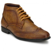 Shoe Rider Men's Brogue Shoes Ankle Length Boot
