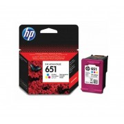 HP 651 Tri-colour Ink Cartridge