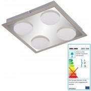 Briloner LED Deckenleuchte, Deckenlampe Badlampe, inkl. Leuchtmittel EEK A+ 18W 4-flammig ~ Variantenangebot