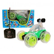 MLD®360 degrees Rotating Front Axle Spinning Wheels Stunt Car with Colourful 3D Lights & Music -(Colours As Per Availability)