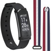 Q-Band Q68HR-RWBS Bluetooth 4.0 Heart Rate, Смарт Фитнес Гривна Часовник