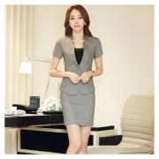 Trajes Para Mujer Faldas Y Sacos Formales De Oficina Y Negocio - Gris