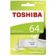 Stick USB Toshiba TransMemory THNU202W0640E4, 64 GB, USB 2.0 (Alb)