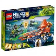 Set de constructie LEGO Nexo Knights Motocicleta Planor a lui Lance