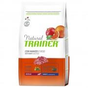 Trainer Natural Dog Trainer Natural Medium Adult Manzo & Riso - Set %: 2 x 12 kg
