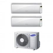Samsung Condizionatore Dual Split Con Inverter 7000+12000 Btu Maldives Aj050ncj2eg In R32 Classe A++