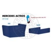 Mercedes Actros 2012-től (felhajtható anyósülés) ülés láb borítás PÁR KÉK