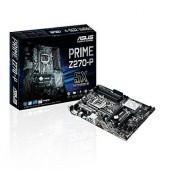 Asus Prime Z270-P gaming moederbord socket 1151 (ATX, Intel Z270, Kabylake, 4x DDR4-geheugen, USB 3.0, M.2-interface)