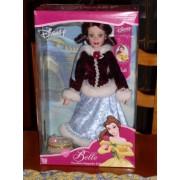 Disney Princess Bk Collectibles Brass Key Belle Porcelain Keepsake Doll