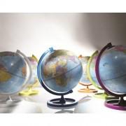 """Настолен глобус """"Цветен кръг"""" (ø 33 cm) оранжев"""
