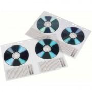 Hama CD-/DVD-Hülle, DIN A4, PP, für 2 CD's, transparent