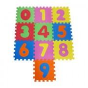 Knorrtoys knorr® toys Tappeto puzzle numeri 0-9 (10 pezzi) - colorato