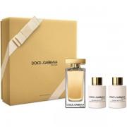 Dolce&Gabbana The One Eau de Toilette Set (EDT 100ml + BL 100ml + SG 100ml) за Жени