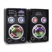 Skytec KA-08 Equipo de altavoces PA activo para karaoke (Sky-178.406)