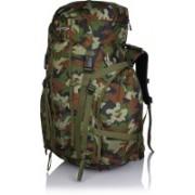 Suntop TREK 65L (with Internal Frame) Travel Bag Backpacking Backpack for Outdoor Hiking Trekking Camping Rucksack(Jungle) Rucksack - 65 L(Multicolor)
