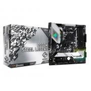 MB, ASRock B550M STEEL LEGEND /AMD B550/ DDR4/ AM4 (90-MXBCU0-A0UAYZ)