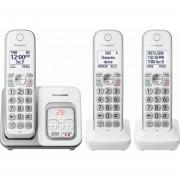 Telefono Inalambrico Panasonic Kx-tgd533w 3 Auriculares
