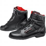 FLM Motorradstiefel kurz, Motorradschuhe FLM Sports Schuh wasserdicht 1.1 schwarz 48 schwarz