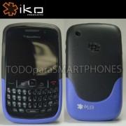 Funda IKO Blackberry 9700 9780 LILA 2Tonos