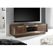 Op voorraad tv meubel cognac bruin