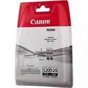 Canon PGI-520BK Original Ink Cartridge Black 2 Pieces