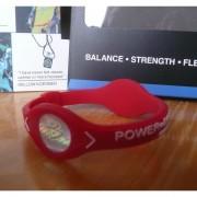 Balanční náramek s hologramem Power Balance - červený-bílý