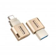 Unidad Flash USB 3.1 ADATA UC350 Tipo C De 16 GB. Color Dorado. AUC350-16G-CGD