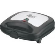 Apex Grill Sandwitch Grill(Black, Silver)