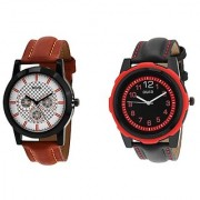 Oura Analog Round Casual Wear Men'S Watches Combo Of 2pc -Oura-CO-1655