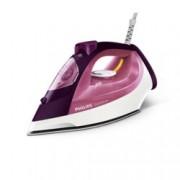 Парна ютия Philips Steam Pink, 40 г/мин. пара, 170г. парен удар, Safety Auto Off, 2400W, бяла/розова