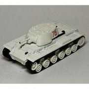 Russian Tanks 1/72 Tank KV-1 WWII Soviet Diecast Fabbri Eaglemoss