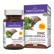 Cink Food Complex, 60 db, New Chapter