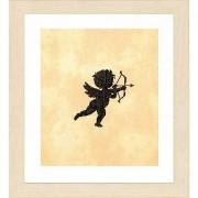 "Lanarte Stickbild ""Cupido I"", 12 x 12 cm"
