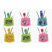 Laxmi Collection (Pack Of 18) Fancy Pen Holder Gift Set With Stationary Kit, With Photo Frame, Print May Vary, Return Gift For Kids Birthday Party (For More Gifts Search For Laxmi Collection)