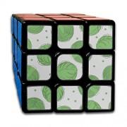 JUNJIEshop Custom 3x3 Puzzle Toy Best Brain Training Toys 3x3x3 Winter Creative Food Vegetable Cabbage Kids Puzzle Toys Juego de Fiesta para niños niñas niños pequeños-55 mm
