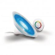 Philips Lâmpada de mesa, branco claro, Aura LIC