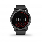 Garmin 010-02174-12 Vivoactive 4 GPS Smartwatch Black Slate