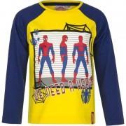 Marvel Kindershirt Spiderman geel met blauw