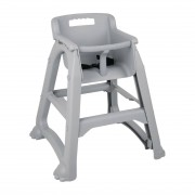 Bolero DA693 - Bolero PP High Chair Grey