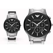 Emporio Armani Mens Emporio Armani AR2460 Stainless Steel Watch & Case !