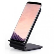 Techly Caricabatterie Wireless Fast Qi Stand Verticale 10W Nero