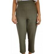 Pantaloni de Dama tip Office de culoare kaki Marimea S