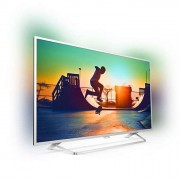 Philips 49 UHD, New model 2017 Android TV, Ambilight 2, HDR+, Pixel Plus UHD, Quad core, 900 PPI, 16 GB Internal memory, expandable, RC Keyboard, Micro Dimming Pro, DVB-T2/C/S2, DTS Premium Sound, 20W, Silver