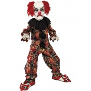 Costum Halloween Copii Clown Colorat Horror
