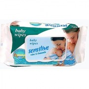 Cuddles Sensitive Aloe and Chamomile Baby Wet Wipes with Lid Portable Pack of 1