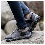Zapatos Deportivos Hombre Al Aire Libre Alpinismo Zapatos Para Correr-Gris