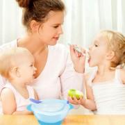 ER Bebé Sucker Tazón Cuchara Conjunto Horquilla Antideslizamiento Platos De Aprendizaje La Formación De Niños - Azul